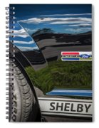 2007 Ford Mustang Shelby Gt500 Painted   Spiral Notebook