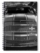 2007 Ford Mustang Shelbygt 500 427 Bw Spiral Notebook