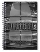 2007 Ford Shelby Gt 500 Mustang Bw Spiral Notebook