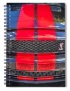 2007 Ford Shelby Gt 500 Mustang Spiral Notebook