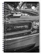 2008 Dodge Challenger  Spiral Notebook