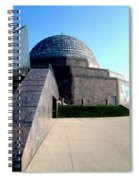 2009 Adler Planetarium With Glass Sky Pavilion II Chicago Il Usa Spiral Notebook