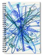 2010 Abstract Drawing 21 Spiral Notebook