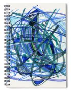 2010 Abstract Drawing 22 Spiral Notebook