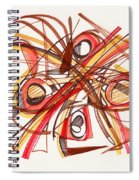 2010 Abstract Drawing 23 Spiral Notebook