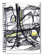 2010 Abstract Drawing 27 Spiral Notebook