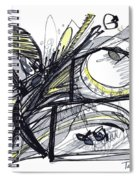 2010 Abstract Drawing 28 Spiral Notebook