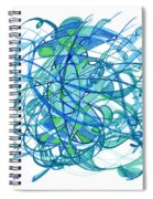 2010 Abstract Drawing 30 Spiral Notebook