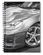 2010 Chevy Corvette Grand Sport Bw Spiral Notebook