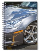 2010 Chevy Corvette Grand Sport Hdr Spiral Notebook