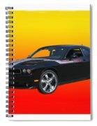 2010 Dodge Challenger Spiral Notebook