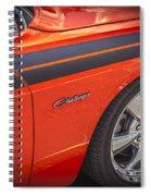 2010 Dodge Challenger Rt Hemi Spiral Notebook
