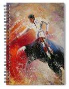 2010 Toro Acrylics 05 Spiral Notebook