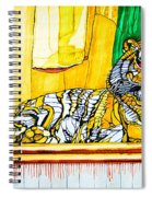 2010 Year Of The Tiger Spiral Notebook