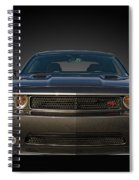 2012 Dodge Challenger Classic Spiral Notebook
