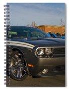 2012 Dodge Challenger R/t Classic Spiral Notebook