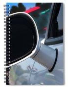 2012 Dodge Challenger White Rear View Mirror - 6023 Spiral Notebook