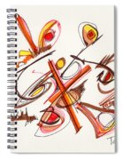 2012 Drawing #23 Spiral Notebook