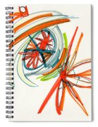 2012 Drawing #24 Spiral Notebook