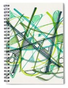 2012 Drawing #34 Spiral Notebook
