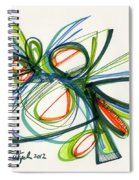 2012 Drawing #35 Spiral Notebook