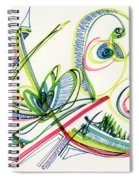 2012 Drawing #36 Spiral Notebook