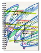 2012 Drawing #9 Spiral Notebook