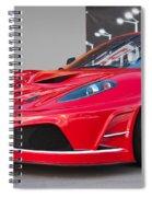 2012 Ferrari F-430 Spiral Notebook