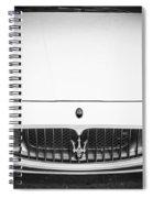 2012 Maserarti Gran Turismo S Bw Spiral Notebook