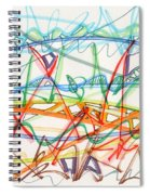 2013 Abstract Drawing #7 Spiral Notebook
