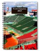 2013 Champions Spiral Notebook