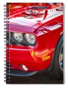 2013 Dodge Challenger Spiral Notebook