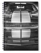 2013 Dodge Challenger Srt Bw Spiral Notebook