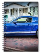 2013 Ford Mustang Shelby Gt 500  Spiral Notebook