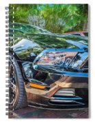 2013 Ford Shelby Mustang Gt 5.0 Convertible Painted   Spiral Notebook