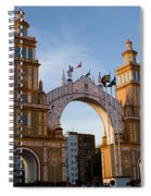 2013 Gateway To Feria De La Seville Spiral Notebook