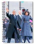 2013 Inaugural Parade Spiral Notebook