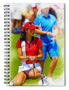 2013 Solheim Cup - Michelle Wie Spiral Notebook