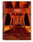 2014 02 06 01 Okalossa Island Pier 0213 Spiral Notebook
