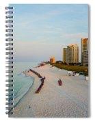 2014 08 05 01 Navarre Beach 100 Spiral Notebook
