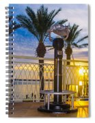 2014 11 11 01 B Destin 0306 Spiral Notebook