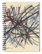 2014 Abstract Drawing #8 Spiral Notebook