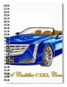 2014 Cadillac Ciel Concept Spiral Notebook