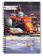 2014 Ferrari F14t Fernando Alonso  Spiral Notebook
