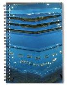 2014 Porsche 911 Carrera S Blue Spiral Notebook