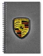 2014 Porsche Cayman S  Logo Spiral Notebook
