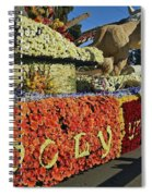 2015 Cal Poly Rose Parade Float 15rp052 Spiral Notebook