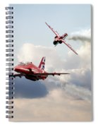 2015 Red Arrows Pair Spiral Notebook