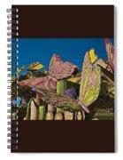 2015 Rose Parade Float Of Butterflies 15rp045 Spiral Notebook