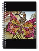 2015 Rose Parade Float With Butterflies 15rp043 Spiral Notebook